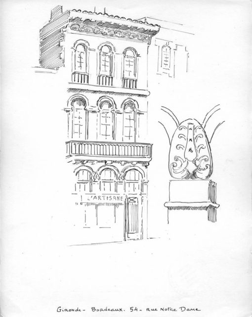 Gironde-bordeaux 54 rue Notre Dame
