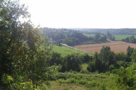 Une vue sur la vallée de l'Engranne. (Photos D. F.)