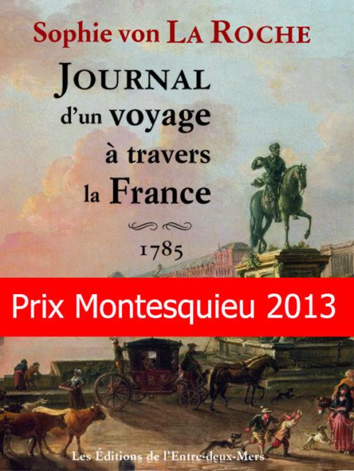 Journal d'un voyage à travers la France