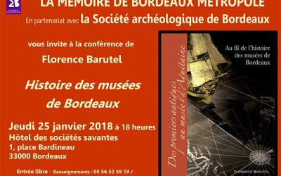 Conférence De Florence Barutel à l'Hôtel des sociétés savantes