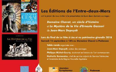 """Domaine Chavat, """"Final de la Fête à Léo"""" (15 septembre Podensac)"""