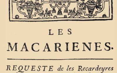 """Présentation : """"Les Macariennes"""""""